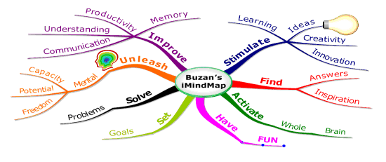 iMindMap version 1 in 2006