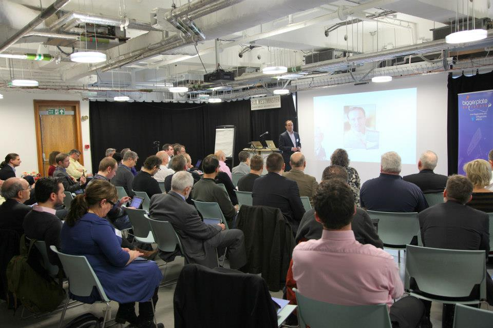 Biggerplate Unplugged conference in London