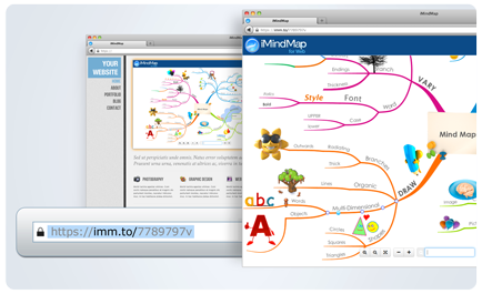 creating a link - Imindmap Software