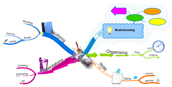 iMindMap 7 Branch Art