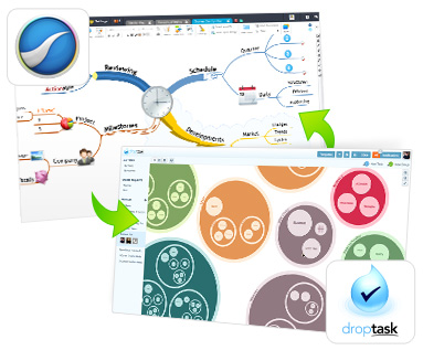 iMindMap and DropTask PRO